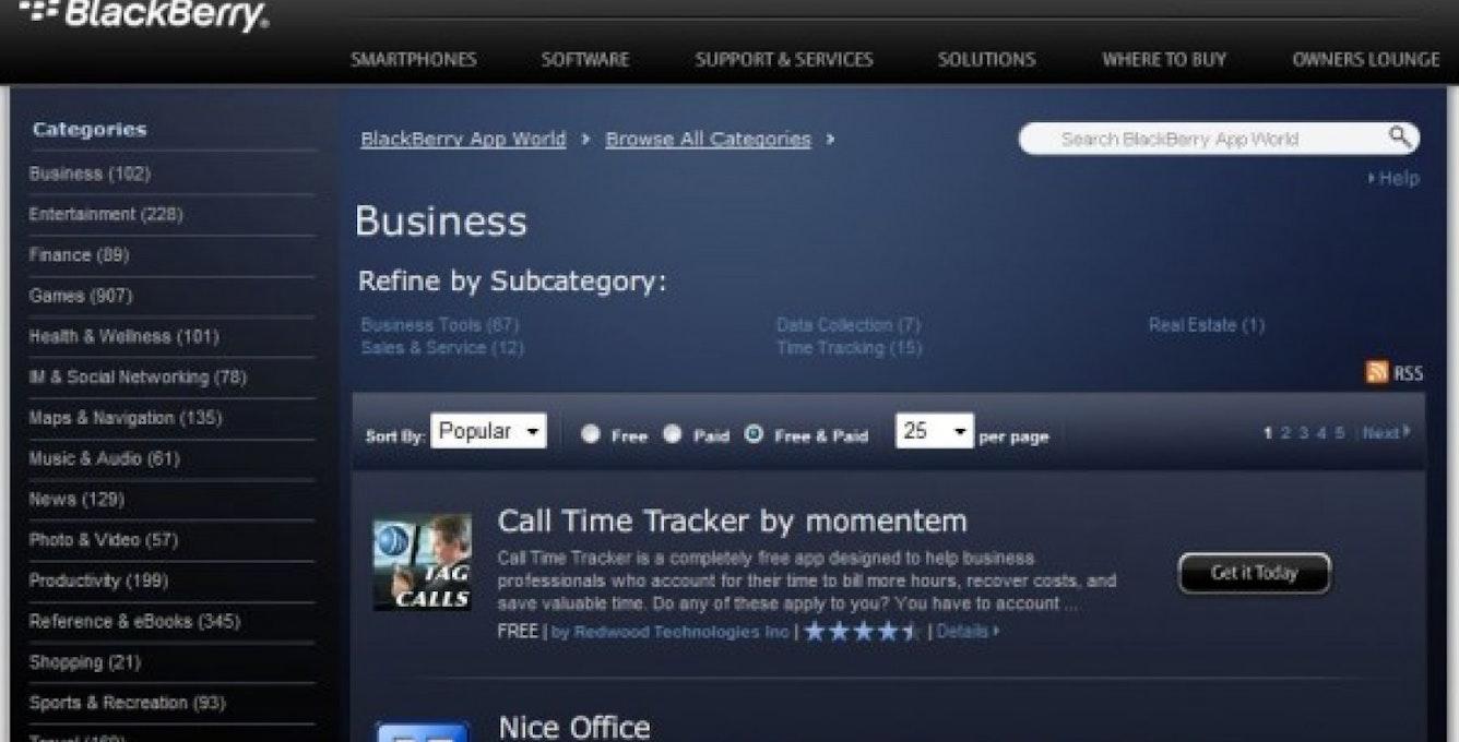 091024 No1 Business App Screenshot 600X343