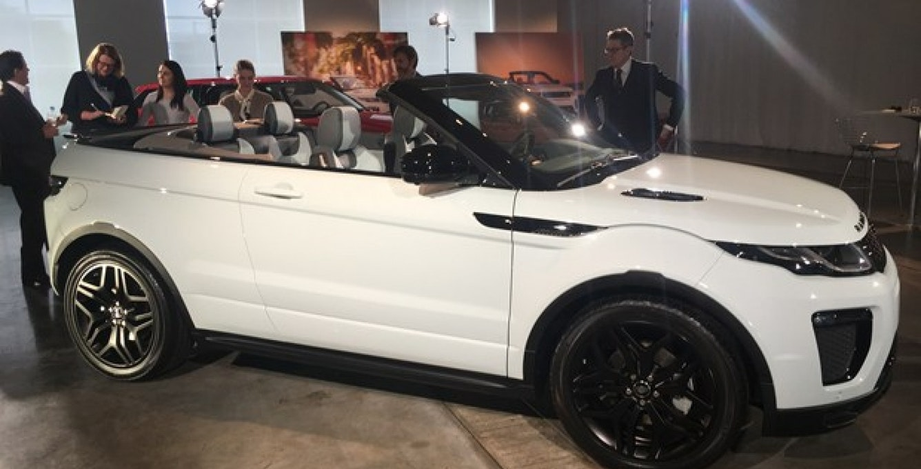 Wired Reviews The New Range Rover Evoque Featuring The AppDirect - Car pro show reviews
