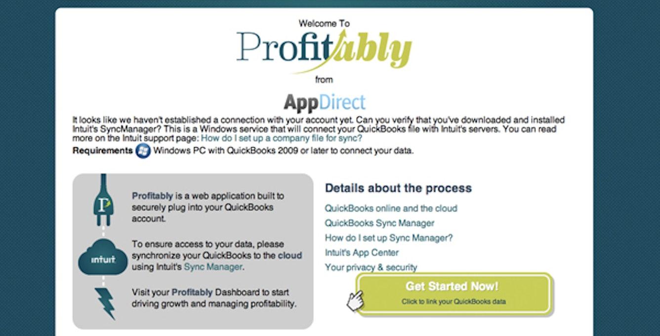 Profitability Screenshot