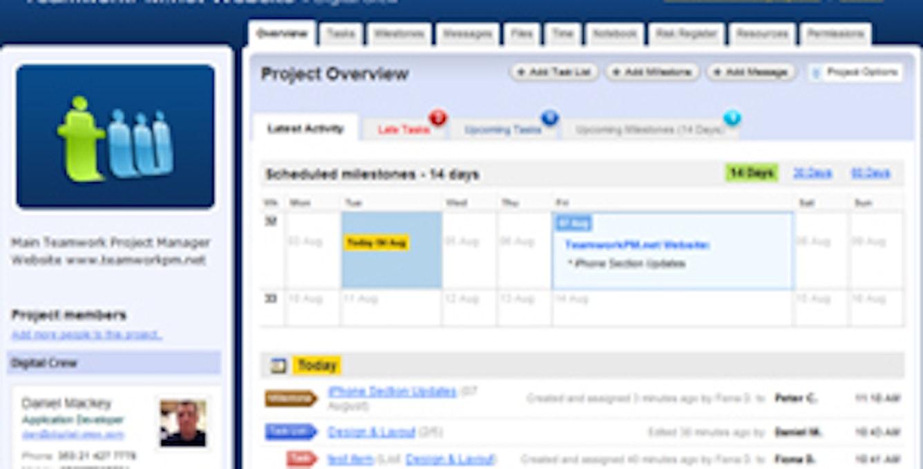 Teamworkpm Screenshot
