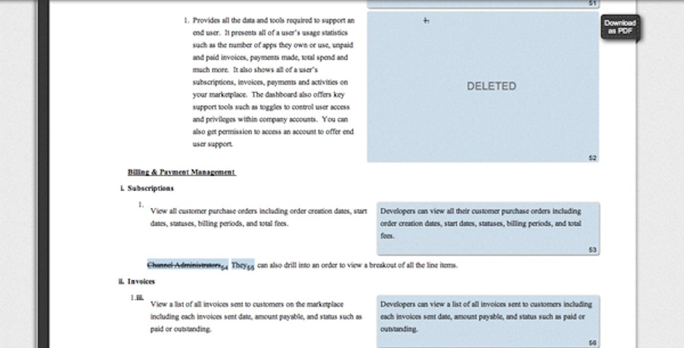 Textflow Screenshot